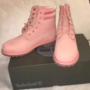 Timberland pink Waterville boots